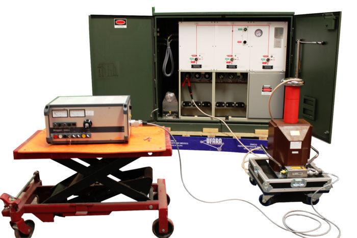 Prueba de Tensión de Aguante a Equipo Primario hasta 78 kV de Corriente Alterna a 60 Hz